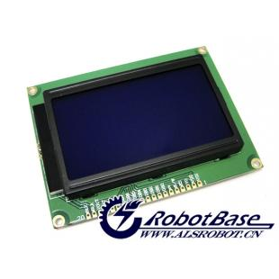 arduino 12864点阵液晶 51单片机 带字库 带教程讲解
