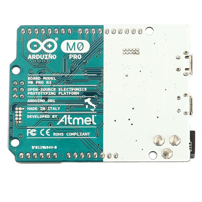 2013年哈尔滨奥松机器人科技有限公司正式成为意大利电子开源硬件巨头公司Arduino中国区域代理商。Arduino M0 Pro是对Arduino UNO平台的简单而强大的32位扩展。该电路板采用Atmel 的SAMD21 MCU,并具备32位ARM Cortex M0内核。Atmel内核使这个电路板的灵活性得以提升,还让M0 Pro成为学习32位应用开发的理想教学工具。 Atmel的嵌入式调试器(EDBG)集成在电路板上,可以提供全调试接口,无需额外软件,使调试工作更加容易。此外,EDBG还支持虚拟C