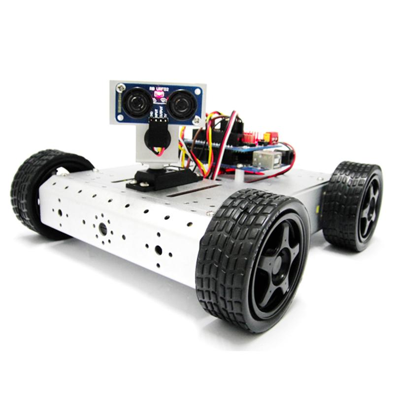 arduino超声波避障小车电路图