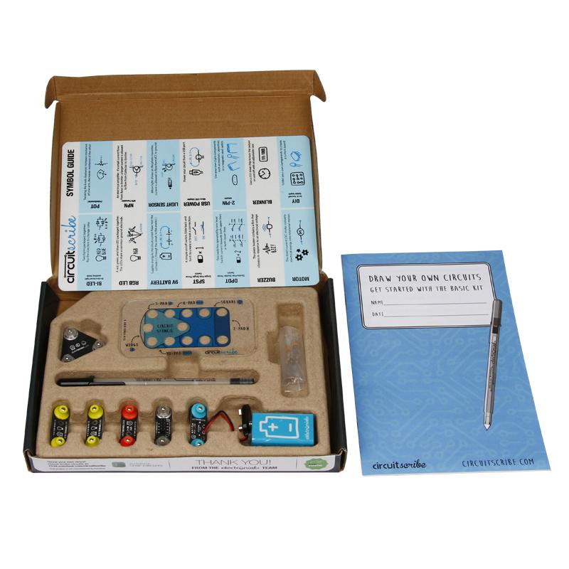 circuit scribe basic 基础套件导电墨水笔创客科技教育steam礼物