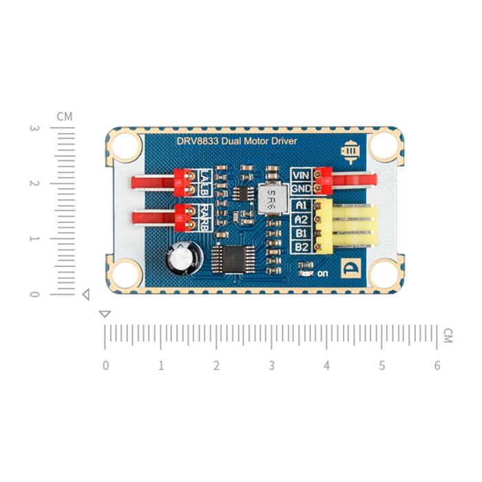 双路电机驱动模块 drv8833芯片 直流电机驱动板