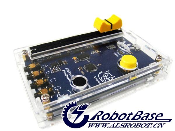 Picoboard控制器透明亚克力外壳为哈尔滨奥松机器人科技有限公司专为Picoboard控制器量身打造的一款性价比较高的保护外壳,该外壳材质用优质透明亚克力材质,超高保护,实用性高,外观好看大方。有了它,您的Picoboard控制器将受到最佳的保护,大大减少了Picoboard控制器裸露在外的损伤。此产品采用螺栓、螺母固定方式,拆装方便且固定牢固。快为您的Picoboard控制器来件好看实用的外衣吧!