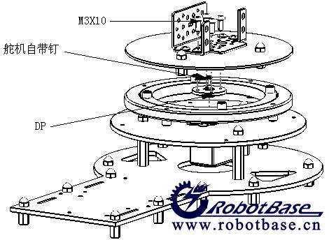 机械关节设计手绘