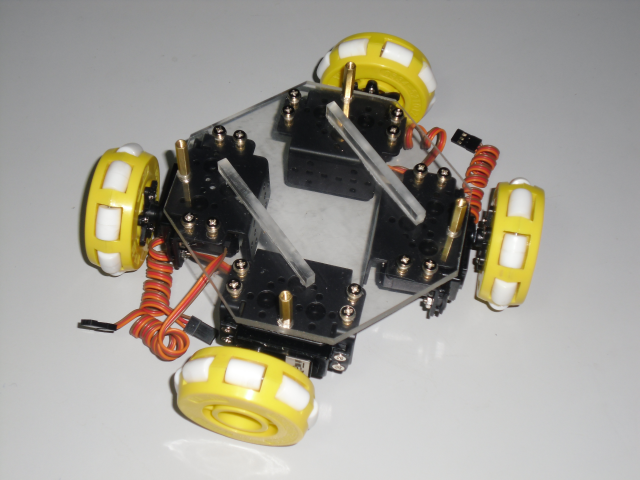 四轮车底盘结构图