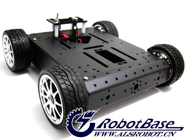 arduino-rover路虎5越野履带机器人寻线避障套