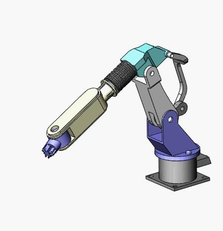 常规机械臂结构