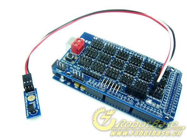 arduino mega sensor shield图片
