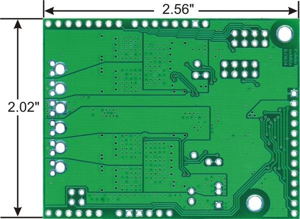 双路大功率直流电机驱动扩展板