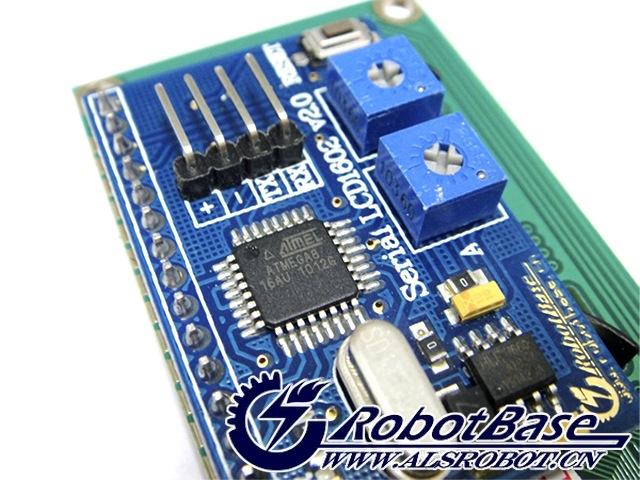 arduino serial lcd1602