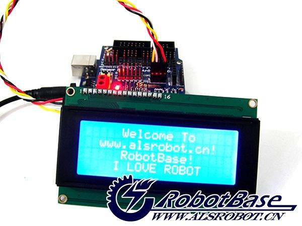 作为Arduino的爱好者和使用者,你经常会遇到这样的问题:控制端口有限,插几个数字模块,加几个传感器模块,端口用完了,想接个液晶显示传感器读数都无法实现,因为接口原因换Arduino Mega2560控制器还要额外开销,于心不忍,那怎么办?现在问题可以轻松解决了,我们最新开发的IIC LCD2004字符液晶显示模块就可以解决上述问题,IIC(I2C)只需两根线就可以实现数据通信,还可以挂其他IIC(I2C)设备。而且IIC LCD2004字符液晶显示器具有手动背光开关、对比度调节等功能,可根据您实际需要