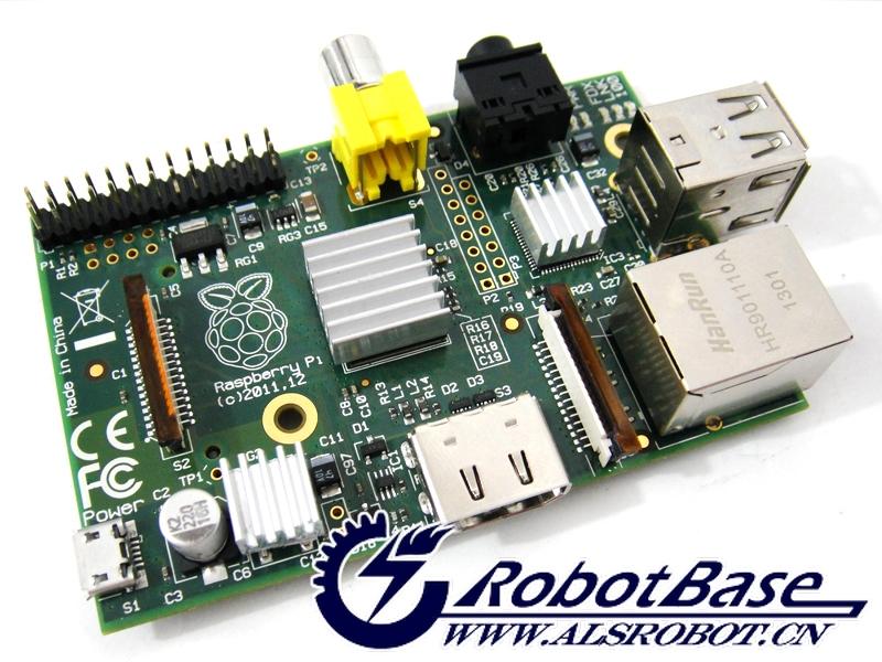 通知:哈尔滨奥松机器人与科学出版社出版书籍《Raspberry Pi 快速入门指南》出版了,树莓派全家福产品图片已刊登为书籍封面,树莓派套件上市以来,销量万件!  *封面:爱上树莓派套件(树莓派全家福)  Raspberry Pi是一款基于Linux系统的个人电脑,配备一枚700MHz的处理器,512内存,支持SD卡和Ethernet,拥有两个USB接口,以及 HDMI和RCA输出支持。有消息称,虽然Raspberry Pi看起来非常的迷你只有一张信用卡大小,但是它能够运行像《雷神之锤三:竞技场》这样的