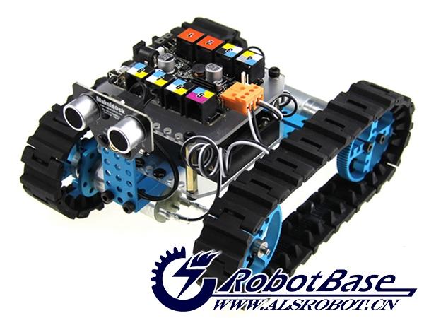 00元 arduino 4wd 移动机器人平台 铝合金小车(黑色.