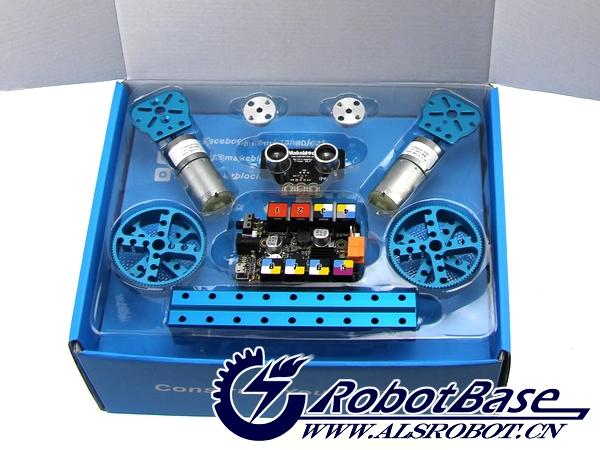 2015年哈尔滨奥松机器人科技有限公司最新推出Makeblock Starter Robot Kit,此款产品为Makeblock官方授权代理原装正品。本产品是即1934年的乐高积木后,金属版的乐高积木其正在逐渐兴起全面DIY动手制作的浪潮,它可向用户提供完整的机械、电子和软件解决方案。此项目曾在国际著名众筹平台Kickstarter上推出,提前获得超过100%支持直到结束,募集资金超过目标金额的600%,创当下机器人产品众筹成功记录。 此机器人套件是新一代组装原型设计平台,它能让你的构思变成现实,是一