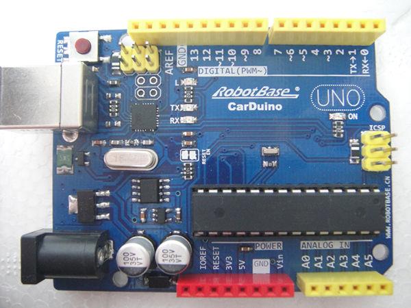 深圳制汇节展示兼容arduino开发板carduino