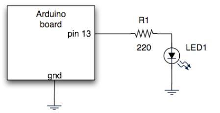 arduino连接led使其闪烁