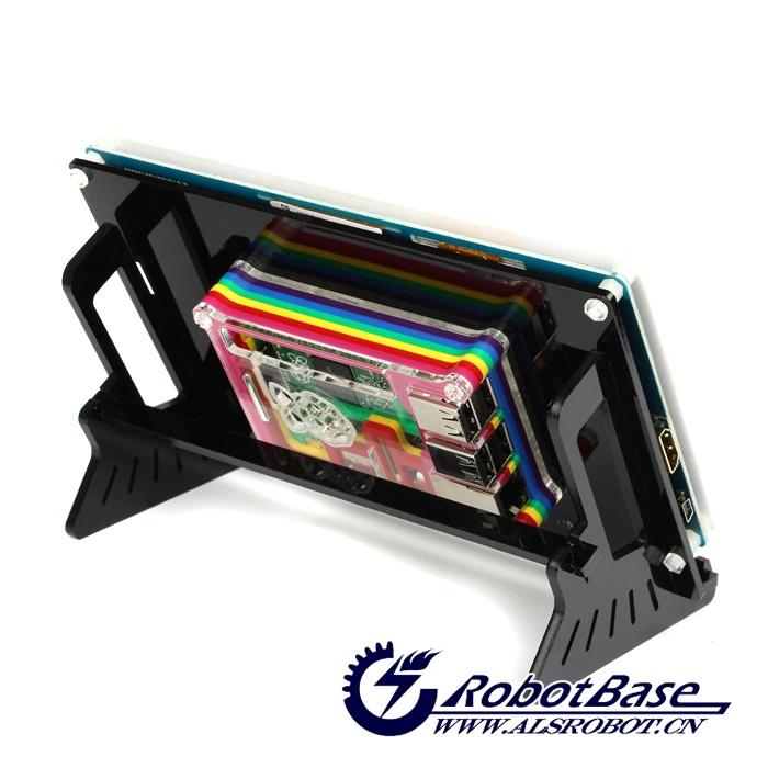 DIY配套支架后兼容7寸液晶屏 ,完美结合, 方便美观