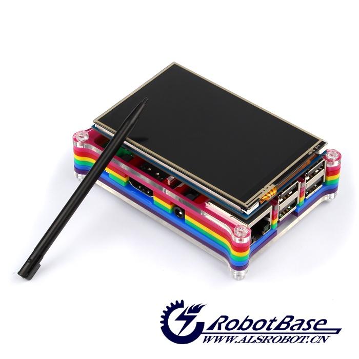 配套3.5寸液晶屏,无需连线,直接安插,方便实用