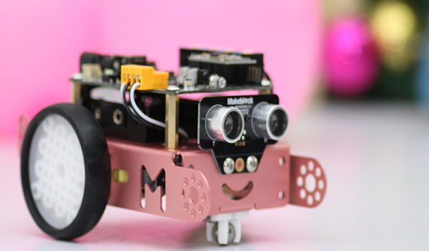 makeblock mbot 智能遥控 电子积木 机器人套件 【蓝色2.4g课堂版】