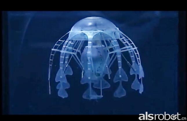 蝴蝶机器人 蝴蝶仿生机器人每只翼展长度是50厘米,重量只有32克。有两台电动机独立的驱动两只翅膀,一个IMU,加速计,陀螺仪,指南针,还有两个90毫安的聚合物电池。每秒拍打1-2次翅膀,最高速度可达到2.5m/s,飞行3-4分钟就得充15分钟的电。机翼本身使用的是碳纤维骨架,并覆盖更薄的弹性电容膜。