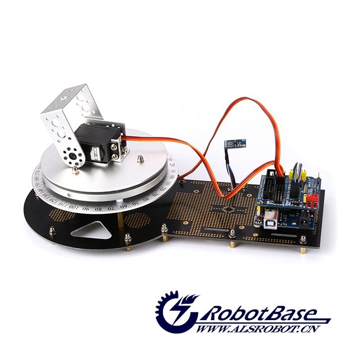 as-6dof 机械臂旋转底座 机械手底盘支架 arduino互动图片