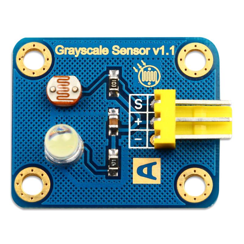 arduino 模拟灰度传感器 寻线传感器 循迹模块 电子积木电子大赛
