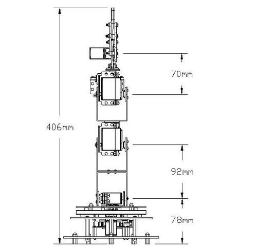 (rb-13k012)6自由度机械臂